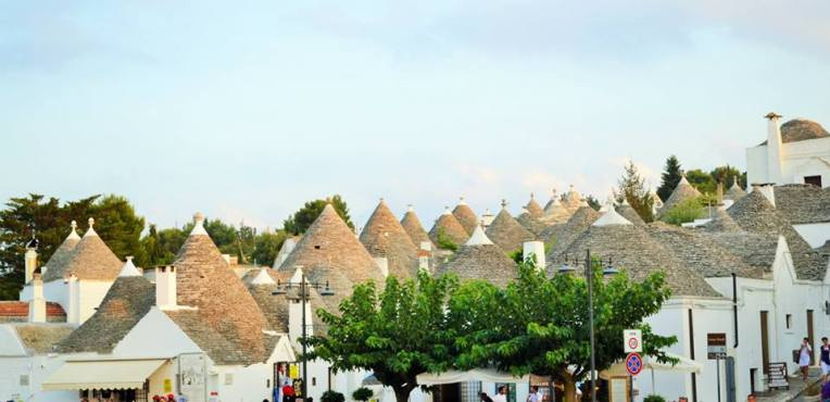 UNESCO world heritage site, Trulli of Alberobello