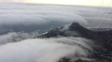 En route to Table mountain